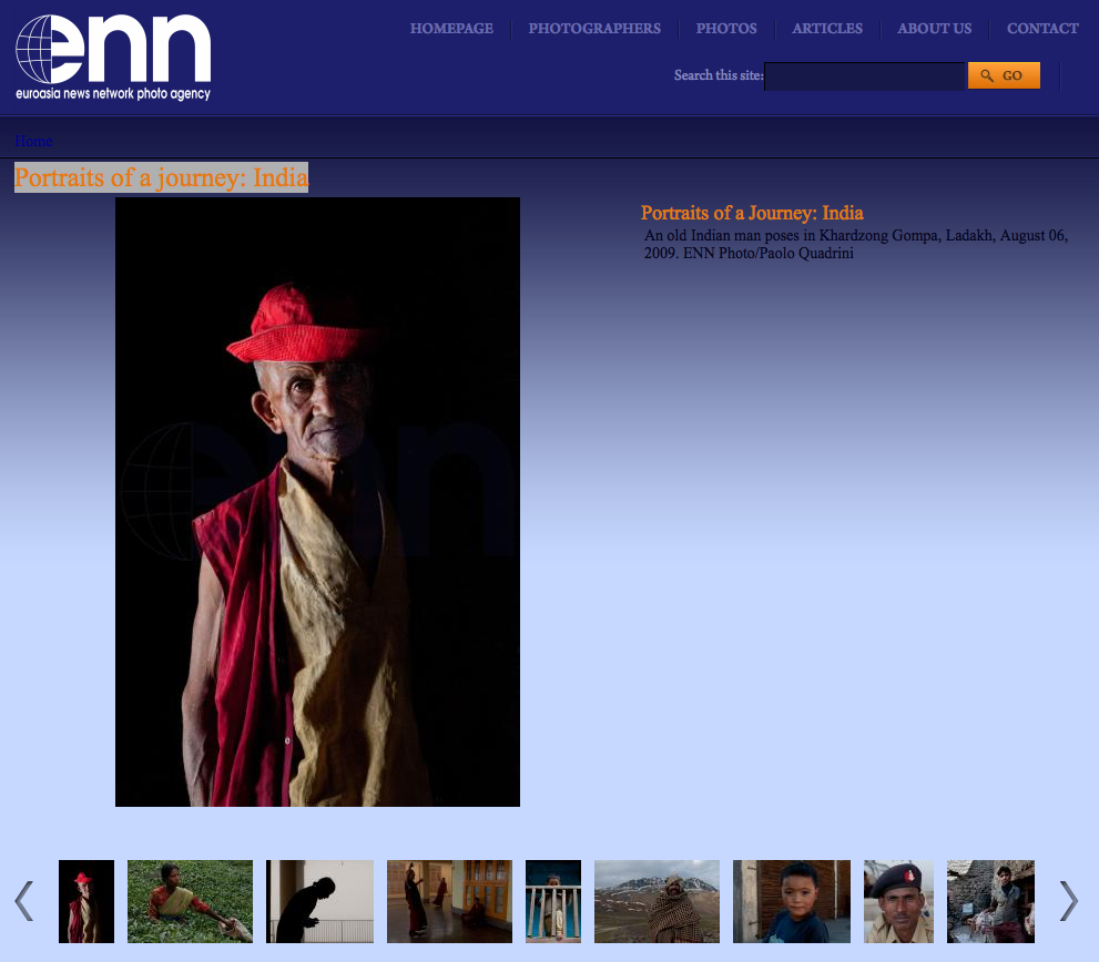 Ennphoto.com – Portraits of a journey: India