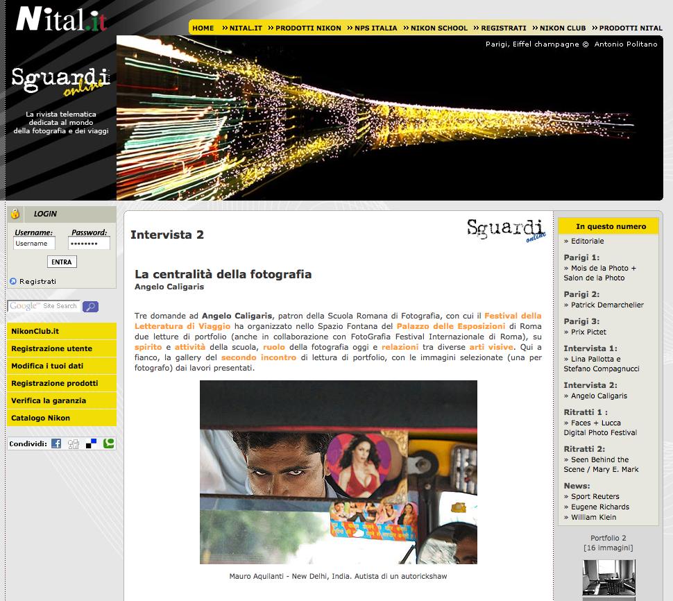 Sguardi on Line – La centralità della fotografia