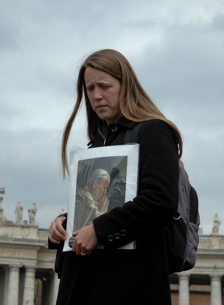 Roma-Gli ultimi giorni di Giovanni Paolo II