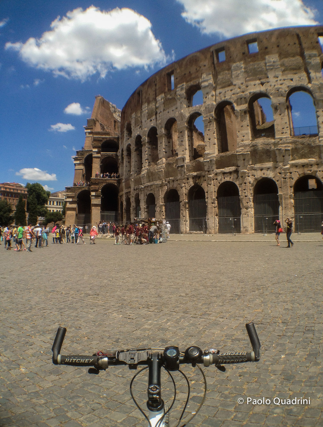 Rome by Bike with iPhone